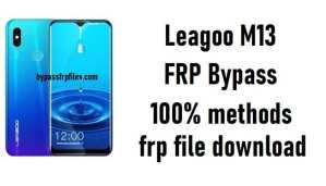 Leagoo M13 FRP Bypass - Unlock Google Account Android 9.0
