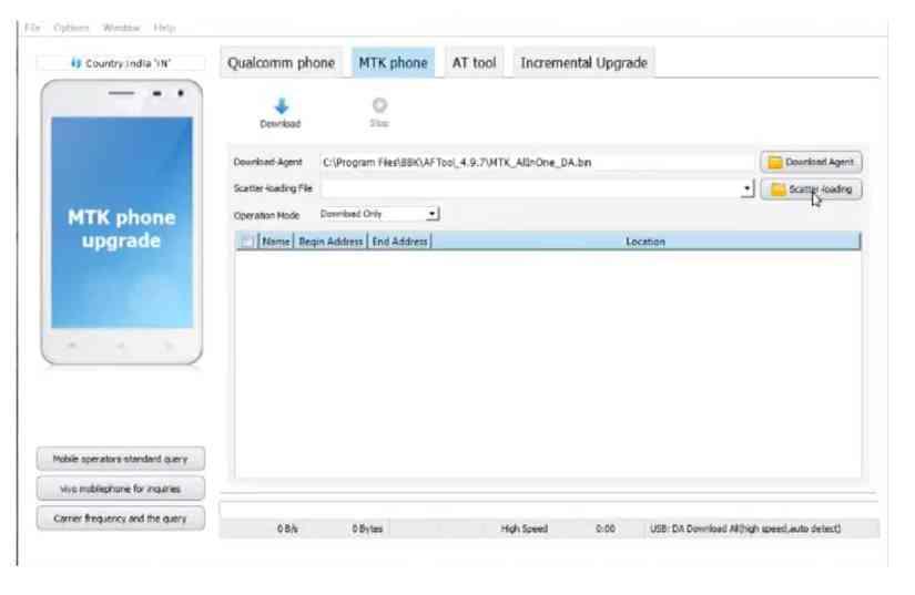 Vivo Flash Tool for Windows - Flashing any Vivo Qualcomm and MTK Phones