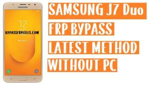 Samsung J7 Duo FRP Bypass - Unlock Google Account Lock | Android 9.0