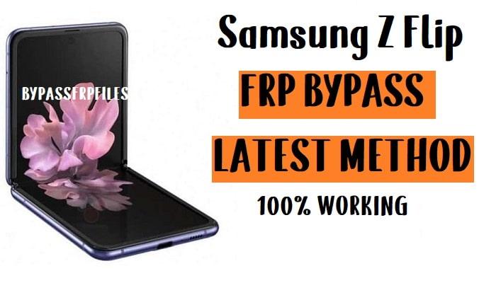 Samsung Z Flip FRP Bypass - Unlock Google Account (Android 10)