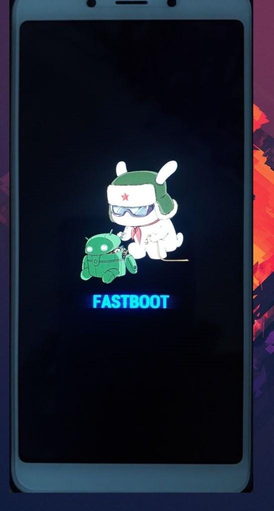 Xiaomi MIUI fastboot Mode