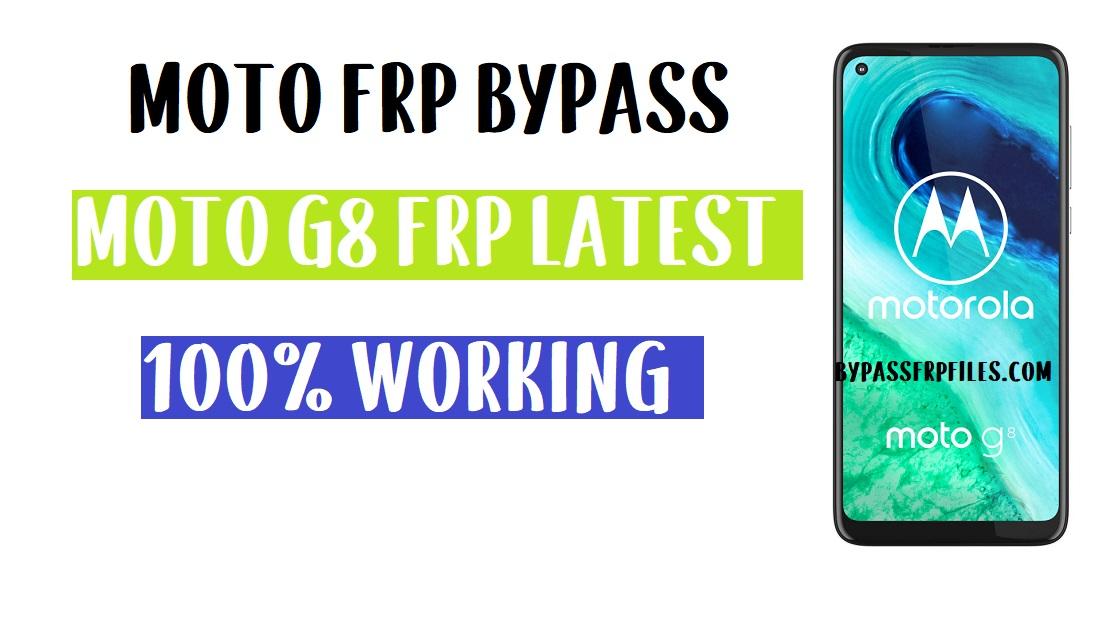 Moto G8 FRP Bypass | Unlock Google Account (Android 10) 2020