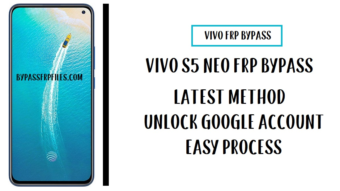 Vivo V19 Neo FRP Bypass (Unlock Google Account) Without PC