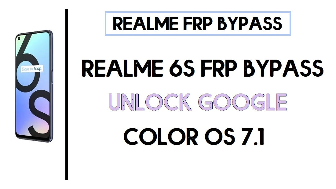Realme 6S FRP Bypass | Unlock Google Account Color OS 7.1 (Android 10)