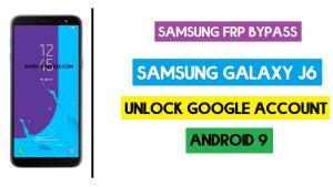 Samsung On6 FRP Bypass | Android 9 Unlock Google Account