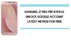 Samsung J7 Pro FRP Bypass   How to Unlock Samsung SM-J730 Google Verification – Android 9 (2020)