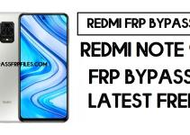 Xiaomi Redmi Note 9S FRP Bypass | How to Unlock Google Verification (MIUI 12)