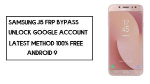 Samsung J5 (2017) FRP Bypass | How to Unlock SM-J530 Google Lock – Without PC (Android 9)