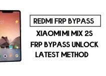 Xiaomi Mi Mix 2S FRP Bypass   How to Unlock Google Account- MIUI 12
