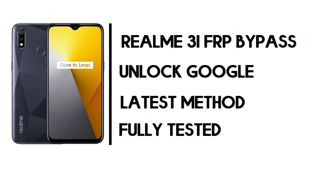 Realme 3i FRP Bypass | How to Unlock Google Account – Android 10