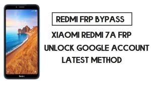 Bypass FRP Xiaomi Redmi 7A | How to Unlock Google Verification (MIUI 12)
