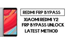 Xiaomi Redmi Y2 FRP Bypass | How to Unlock Google Account- MIUI 12