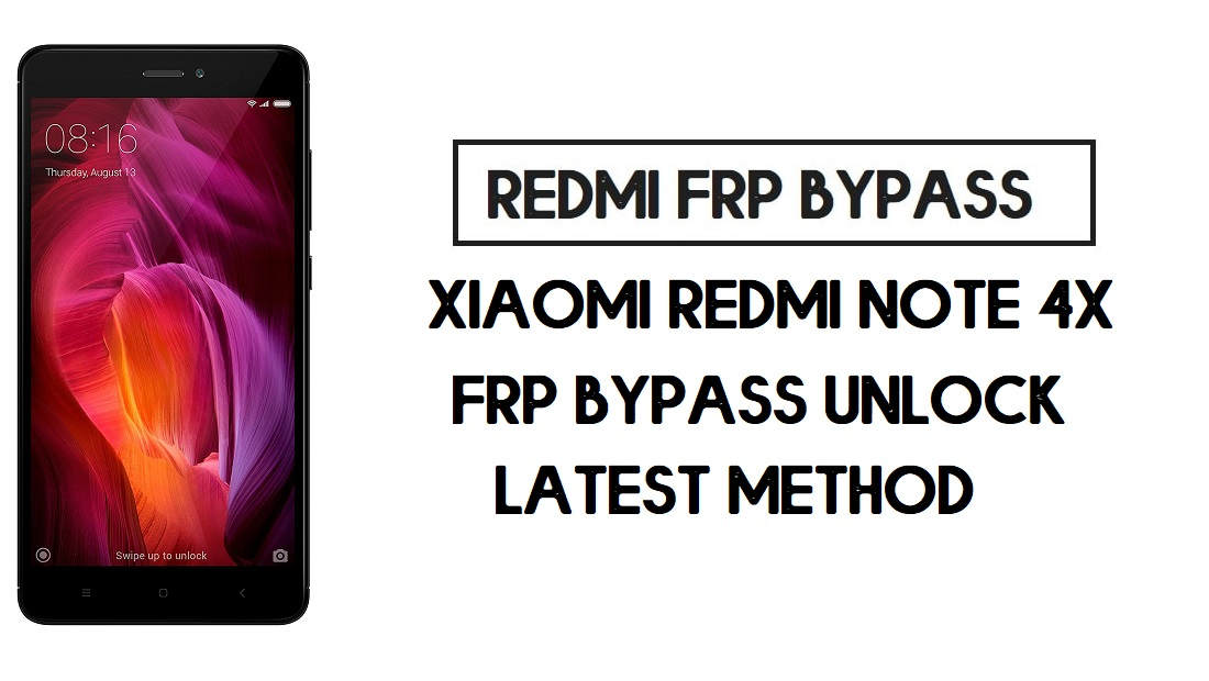 Xiaomi Redmi Note 4X FRP Bypass | How to Unlock Google Account- MIUI 10