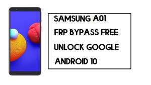 Samsung A01 FRP Bypass | How to Unlock SM-A015 Google Account – Without PC (Android 10)