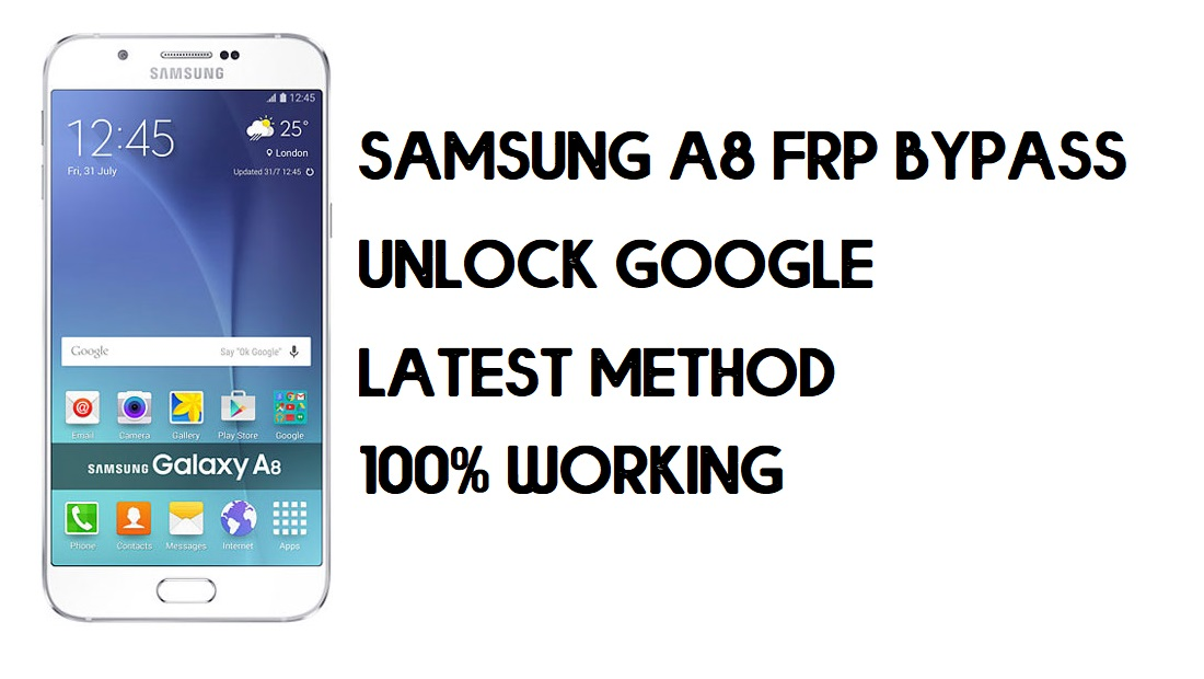 How to Bypass FRP Samsung A8 | Unlock SM-A800 Google Account – Without PC (Android 6.0)