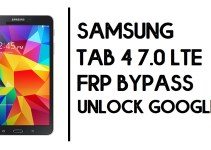How to Samsung Tab 4 7.0 FRP Bypass | Unlock SM-T230 Google Account- Android 6.0.1- Without PC