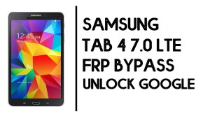 How to Samsung Tab 4 7.0 LTE FRP Bypass | Unlock SM-T235 Google Account- Android 6.0.1- Without PC