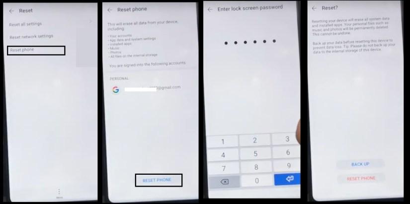 Reset Phone To Huawei FRP Bypass Unlock