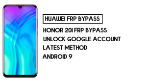 How To Honor 20i FRP Bypass | Unlock Google Account–Without PC