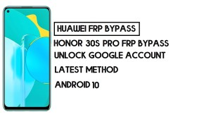 How To Honor 30S FRP Bypass | Unlock Google Account–Without PC