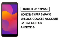 How to Honor 9S FRP Bypass | Unlock Google Account – Without PC (Android 10)