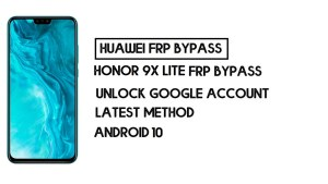 How To Honor 9X Lite FRP Bypass | Unlock Google Account–Without PC