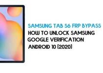 Samsung Tab S6 FRP Bypass | How to Unlock Samsung SM-T865 Google Verification – Android 10 (2020)