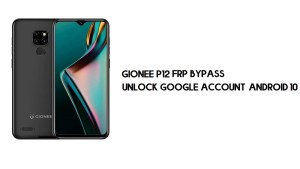 Gionee P12 FRP Bypass   Unlock Google Account–Android 10   free no pc