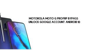 Motorola Moto G Pro FRP Bypass | Unlock Google Account (Android 10)- Without PC
