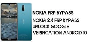 Nokia 2.4 FRP Bypass | Unlock Google Verification – Android 10 (2021)