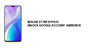 Realme XT FRP Bypass | Unlock Google Account – Android 10