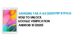 Samsung Tab A 8.0 (2019) FRP Unlock | Bypass Android 10 - New Method