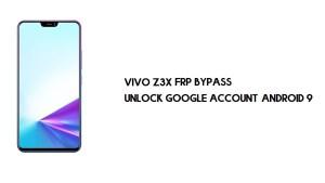 Vivo Z3x FRP Bypass | Unlock Google Account Android 9 Free method