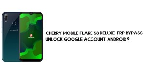 Cherry Mobile Flare S8 Deluxe FRP Bypass | Unlock Google – Android 9