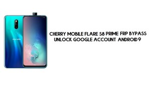 Cherry Mobile Flare S8 Prime FRP Bypass | Unlock Google – Android 9