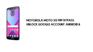 Motorola Moto X5 FRP Bypass | Unlock Google Account Android 8.0 | Free