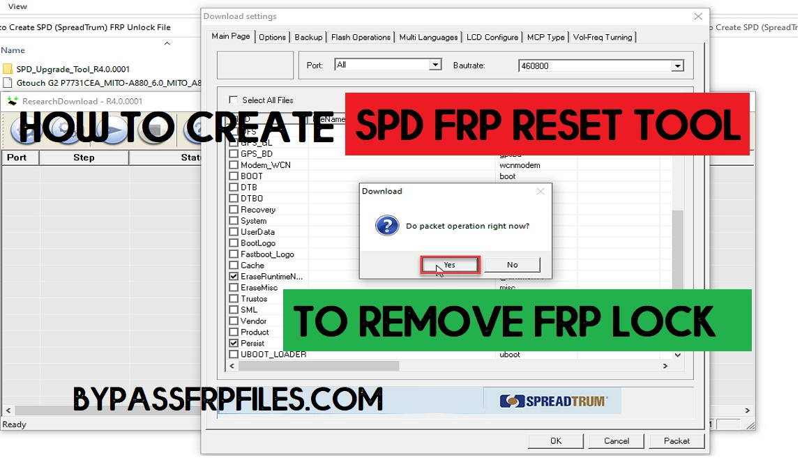 How to create SPD FRP File by using Flash File (Updated 2021)