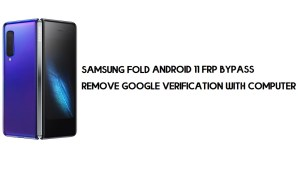 Samsung Fold Android 11 FRP Bypass | Google Account Remove for free