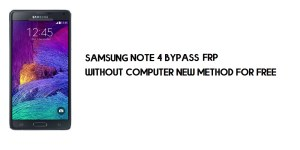 Samsung Note 4 FRP Bypass | Google Account Unlock SM-N910 [Without Computer]