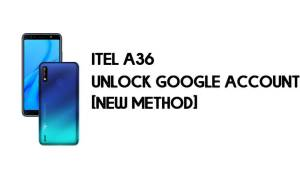 Itel A36 FRP Bypass - Unlock Google Account – Android 9.0 Go for Free