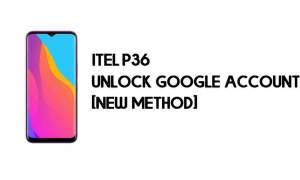 Itel P36 FRP Bypass - Unlock Google Account – Android 9.0 Go for free