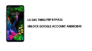 LG G8S ThinQ FRP Bypass Without Computer | Unlock Google Android 10