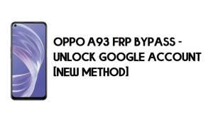Oppo A93 FRP Bypass - Unlock Google Account [New Method] Free