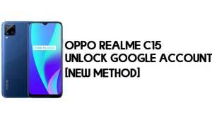 Oppo Realme C15 FRP Bypass – Unlock Google Account [FRP Code] 100% Working
