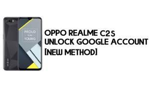 Realme C2s FRP Bypass – Unlock Google Account [FRP Code] 100% Working