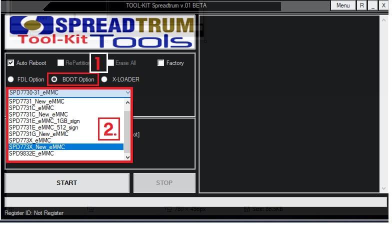 Remove FRP EDL in SPD FRP Unlock Tool Spreadturm