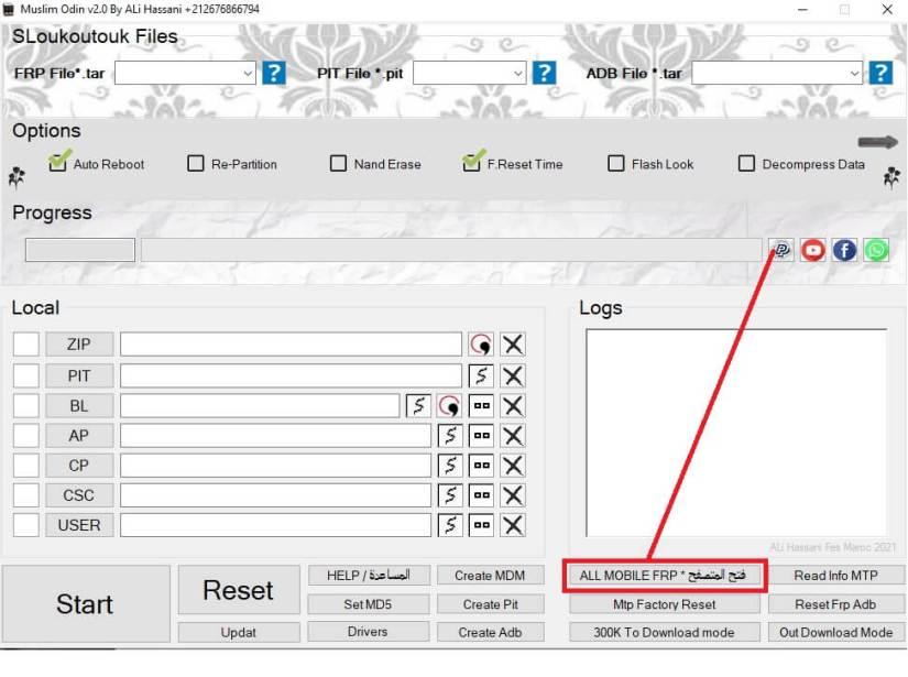 Samsung FRP Bypass Unlock Google With Muslim Odin Tool v2.0