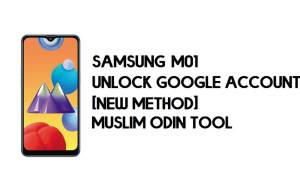 Samsung M01 FRP Bypass - Unlock With Muslim Odin Tool [Android 10]
