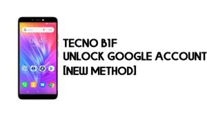 Tecno B1F FRP Bypass – Unlock Google Verification (Android 8.1 Go) [Without PC]