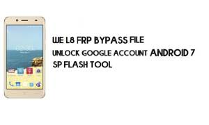 We L8 FRP Bypass File Download - Reset Google Account for Free